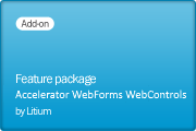 Accelerator WebForms WebControls v7.1.100